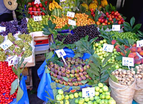 שוק פירות בתורכיה / צילום: Shutterstock