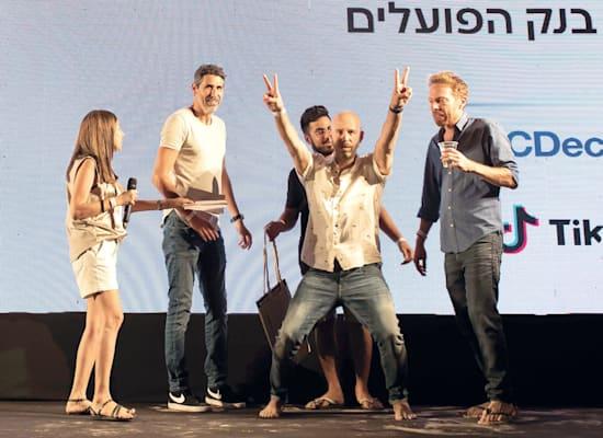 אור גלייכר, בן סבר, דניאל בניה ויגאל עזרא ממשרד ענבר מרחב / צילום: כדיה לוי