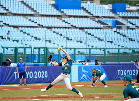 משחק בייסבול בטוקיו, אצטדיונים ריקים / צילום: Associated Press, Jae C. Hong