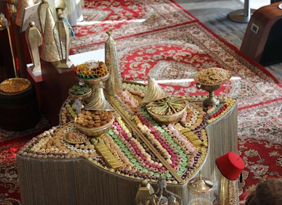 טרקלין המלך דוד באווירת מרוקו / צילום: סיון פרג'