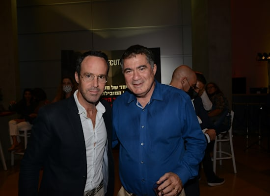 ראול סרוגו וליאון אביגד בכנס Gexcutives / צילום: איל יצהר