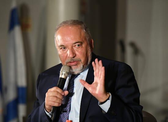 שר האוצר אביגדור ליברמן / צילום: איל יצהר