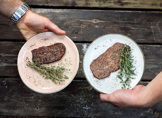 הבשר המתורבת של אלף פארמס / צילום: שלומי יוסף