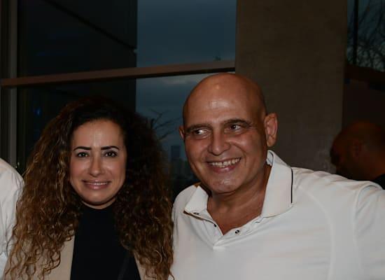 דוד פתאל וטל גרנות גולדשטיין / צילום: איל יצהר