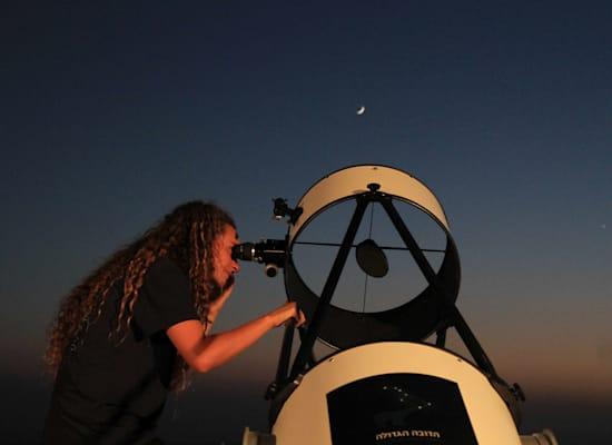 תצפית כוכבים במדבר / צילום: יעקב לדרמן, הדובה הגדולה