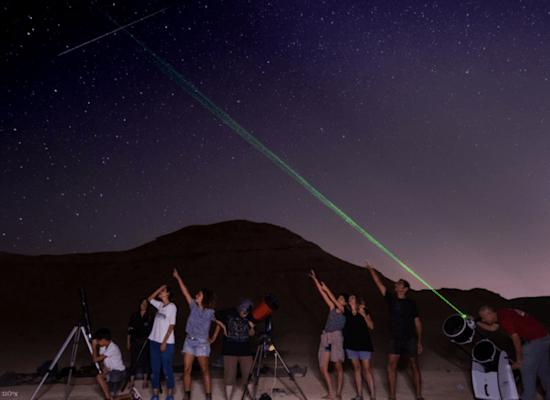 """תצפיות כוכבים ומטר מטאורים / צילום: יח""""צ"""