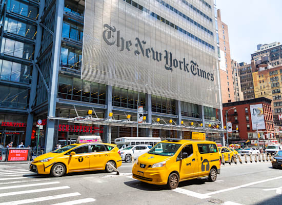 בניין הניו יורק טיימס / צילום: Shutterstock