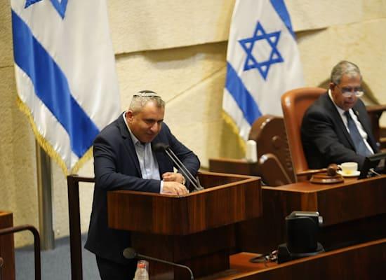 שר הבינוי והשיכון זאב אלקין / צילום: נועם מושקוביץ, דוברות הכנסת