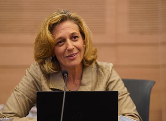 ראש שירותי בריאות הציבור, ד''ר שרון אלרעי פרייס / צילום: דני שם טוב, דוברות הכנסת