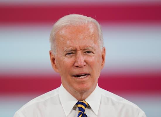 """נשיא ארה""""ב ג'ו ביידן / צילום: Associated Press, Matt Rourke"""
