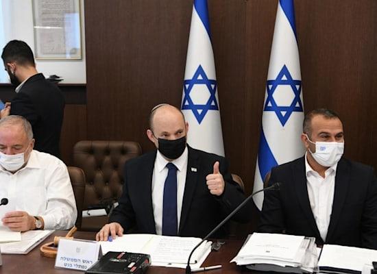 ישיבת הממשלה השבוע לאחר אישור התקציב / צילום: עמוס בן גרשום, לע''מ