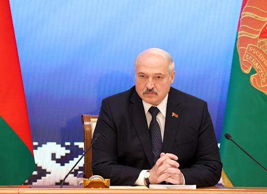 נשיא בלארוס אלכסנדר לוקשנקו / צילום: Associated Press, Sergei Shelega