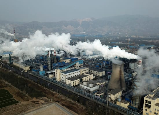מפעל לעיבד פחם, סין / צילום: Associated Press, Sam McNeil