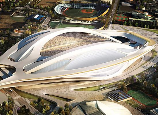 התכנון המקורי: של זאהה חדיד / צילום: הוועד האולימפי של יפן