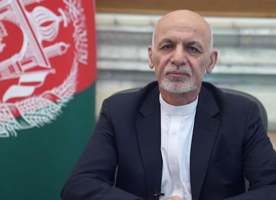 אשרף גאני / צילום: Reuters, Afghan Presidential Palace/Handout