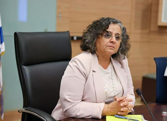 ח''כ עאידה תומא סלימאן, יו''ר הוועדה למעמד האישה / צילום: נועם מושקוביץ, דוברות הכנסת