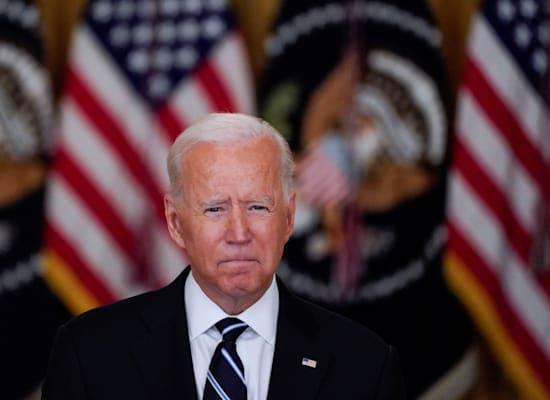 נשיא ארה''ב ג'ו ביידן / צילום: Reuters, ELIZABETH FRANTZ