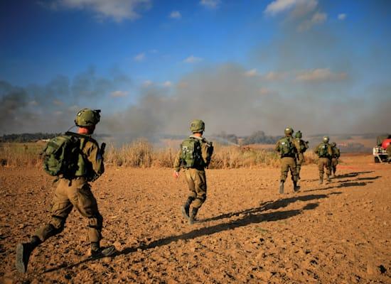התחממות בגזרת עזה / צילום: Reuters, Amir Cohen