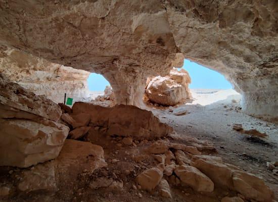 המערה בחמוקי ניצנה / צילום: אורלי גנוסר