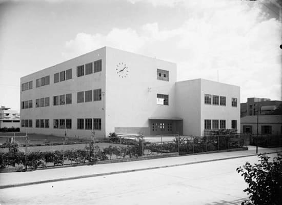 בית הספר ב־1935 / צילום: זולטן קלוגר