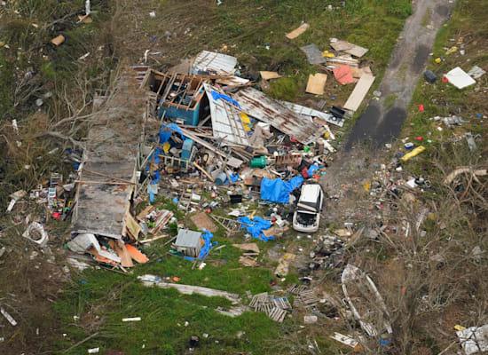 בתים הרוסים לגמרי בעיר לפאייט בלואיזיאנה / צילום: Associated Press, Matt Slocum