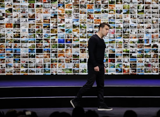 בריאן צ'סקי בכנס בסן פרנסיסקו / צילום: Associated Press, Eric Risberg