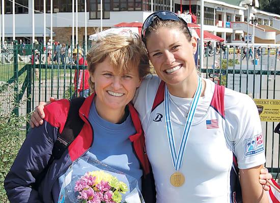 ז'וז'נה (סוזן) פרנסיה עם אמה, ד''ר קטלין קריקו / צילום: תמונה פרטית