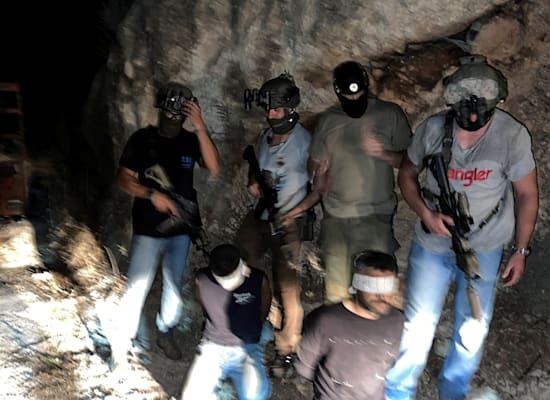 תפיסת שניים מהאסירים הנמלטים / צילום: Reuters