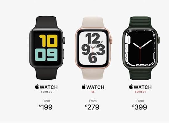 Apple Watch Series 7 / צילום: צילום מסך