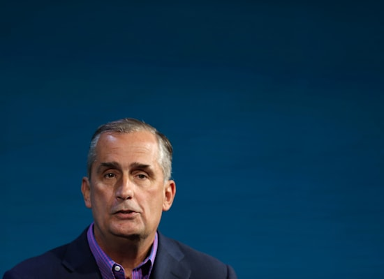 בריאן קרזניץ', לשעבר מנכ''ל אינטל / צילום: Reuters, MIKE BLAKE