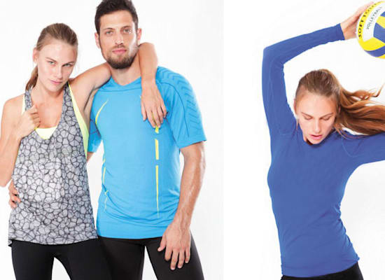 בגדי ספורט שתפרון מייצרת ומשווקת / צילום: אתר החברה