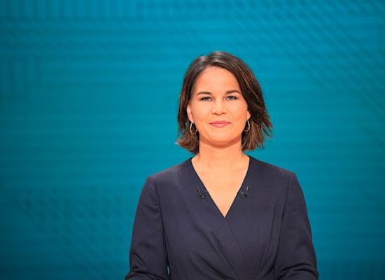 אנלנה ברבוק, מנהיגת הירוקים / צילום: Associated Press, Michael Kappeler