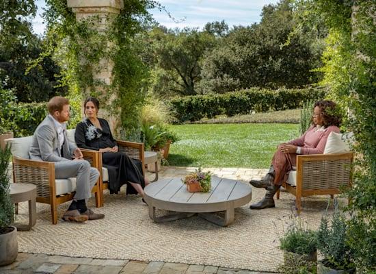 הנסיך הארי ומייגן מתראיינים לאופרה ווינפרי / צילום: Reuters, Harpo Productions/Joe Pugliese