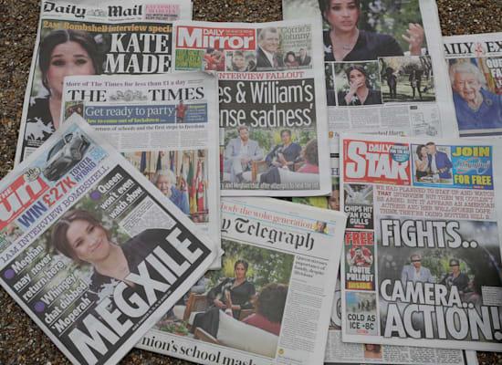 הראיון של הארי ומייגן אצל אופרה סוקר בהרחבה בבריטניה / צילום: Associated Press, Kirsty Wigglesworth