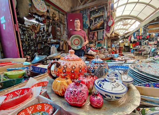 השוק בעכו / צילום: אורלי גנוסר