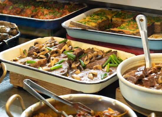אוכל ביתי בסוליקה / צילום: נמרוד סנדרס