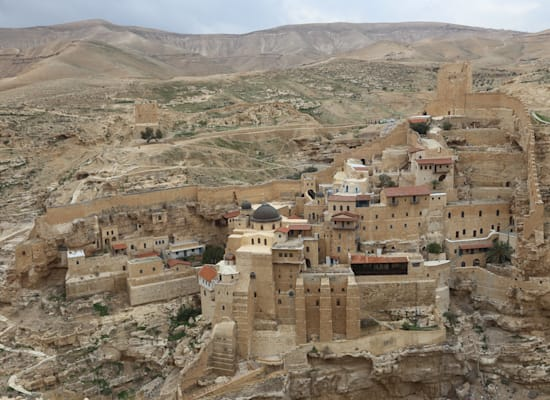 מנזר מרסבא / צילום: עופר אוגש