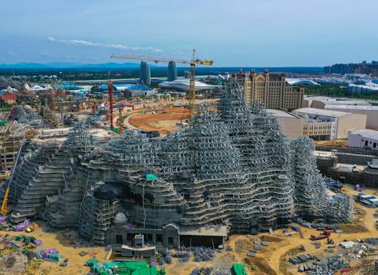 פרויקט בנייה של אוורגרנד בדנז'ו בסין, יולי 2020 / צילום: Reuters, ALY SONG