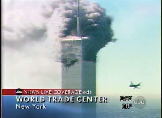 הפיגוע במרכז הסחר העולמי / צילום: מתוך שידורי ABC