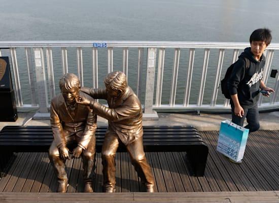 גשר מאפו בסיאול. לוקיישן פופולרי להתאבדויות / צילום: Reuters, Lee Jae Won