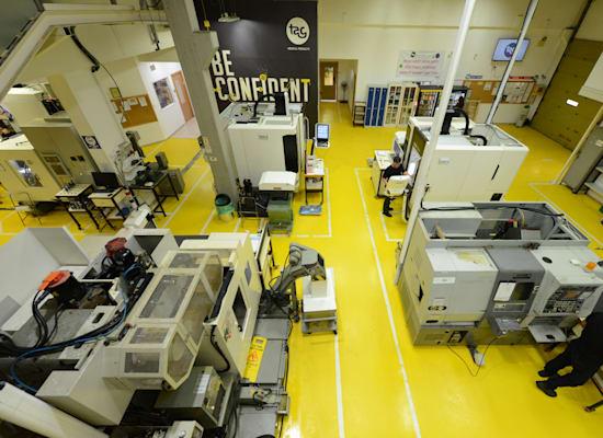 חברת המכשור הרפואי ת.א.ג - מפעל בקיבוץ געתון / צילום: איל יצהר