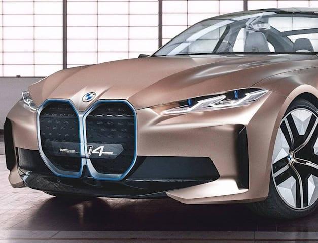 """דגם הקונספט של BMW-i4 / צילום: יח""""צ"""