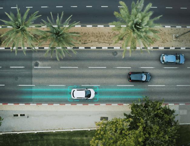 """טכנולוגיית """"כביש חכם"""" של אלקטריאון / צילום: מצגת החברה"""