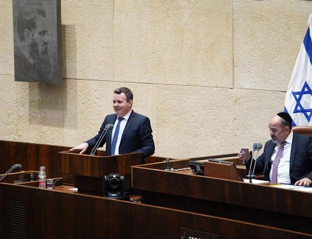 מתוך מליאת הכנסת לקראת השבעת הממשלה / צילום: דוברות הכנסת, דני שם טוב