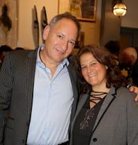 עורכי הדין אילנית לנדסמן ואודי סול / צילום: איציק בירן