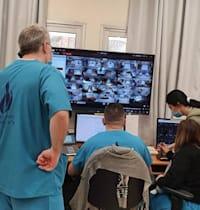 מחלקת הקורונה בבית החולים וולפסון / צילום: בית חולים וולפסון
