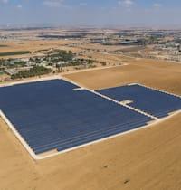 שדה סולארי במושב פדויים / צילום: EDF-RE ישראל