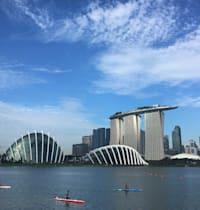 קו הרקיע של העיר סינגפור / צילום: Associated Press