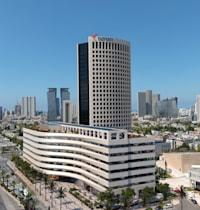 בניין אמות גבעתיים המחודש, החשיבה הירוקה תורמת לחברה ולעובד / הדמיה: Viewpoint