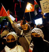 הפגנה פרו-פלסטינית בטורקיה / צילום: Reuters, דילרה סנקאיה